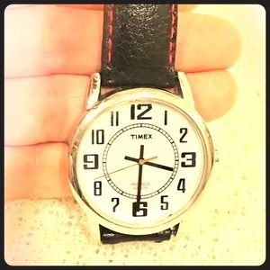 Timex large face wrist watch ⏱